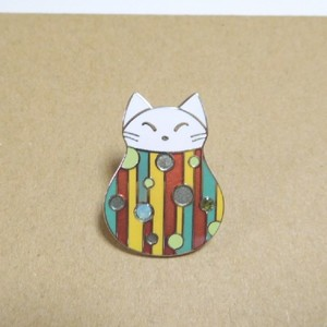 ふく猫 たま | ピンズ | アクセサリー