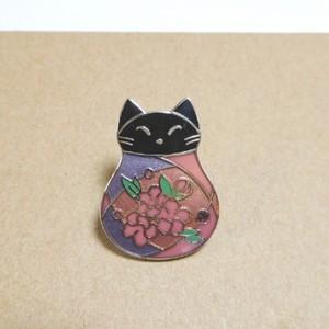 ふく猫 さくら | ピンズ | アクセサリー