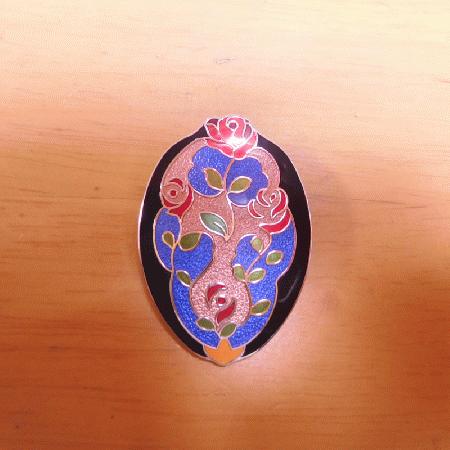 薔薇の香り   ブローチ   アクセサリー