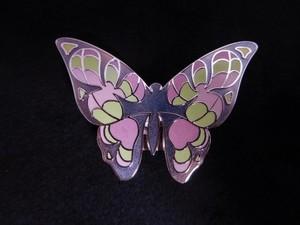 メビウスの蝶 | 帯留め| アクセサリー