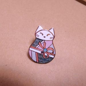 ふく猫 つむぎ | ピンズ | アクセサリー