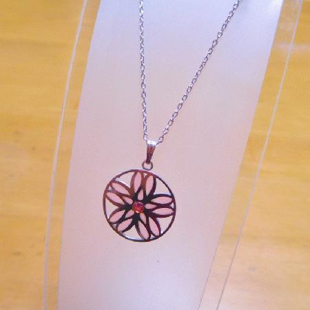 花紋 桜| ペンダント | プリカジュール